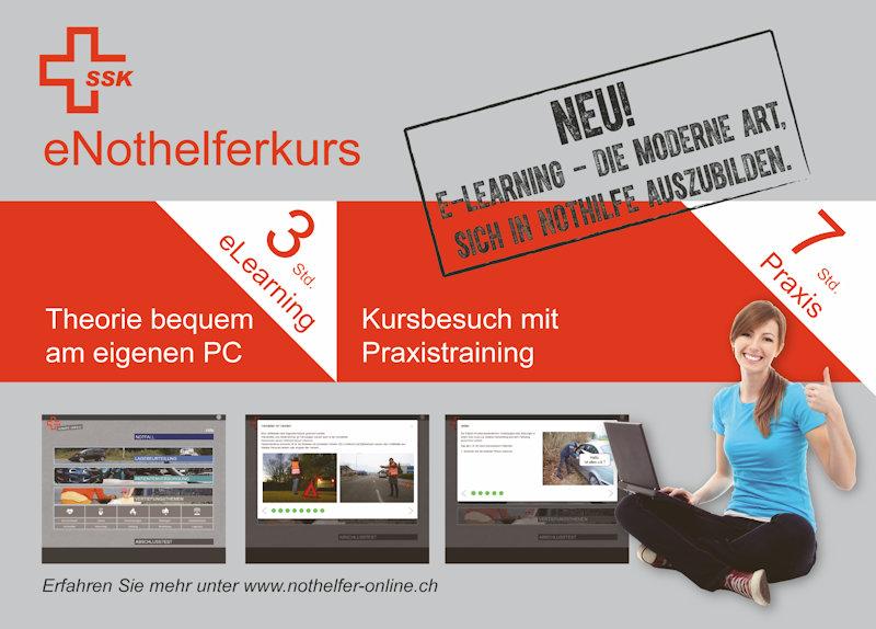Werbung für auf Homepage